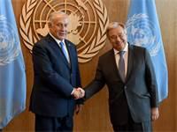 """נתניהו נפגש עם גוטרש מזכ""""ל האו""""ם / צילום: אבי אוחיון לע""""מ"""