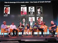 """כנס """"איך להשתמש ב- AI כדי לייצר ערך – סטארט-אפים ישראלים כמקרי בוחן"""" / צילום: שאולי לנדנר"""