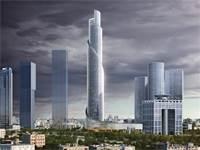 מגדל הספירלה - מגדל עזריאלי הרביעי / הדמיה KPF