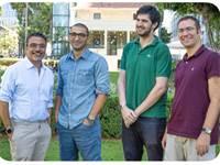 מייסדי KZen, מימין: טל, עומר, גרי, אוריאל / צילום: יחצ