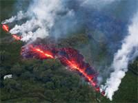ההתפרצות הגעשית בהוואי / רויטרס
