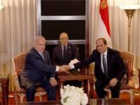 """ראש הממשלה בנימין נתניהו ונשיא מצרים עבד אל-פתאח א-סיסי בפגישה במנהטן / צילום: אבי אוחיון, לע""""מ"""