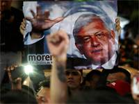 אנדרס מנואל לופז אוברדור ניצח בבחירות במקסיקו / רויטרס