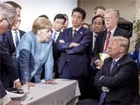 מנהיגי ה-G7 בעת הועידה בקנדה / צילום: Steffen Seibert, משרד המידע הגרמני