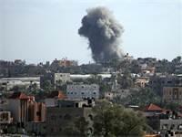 תקיפה ישראלית ברצועת עזה, אוקטובר 2018 / צילום: רויטרס