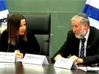 מנדלבליט ויחימוביץ' / צילום: ערוץ הכנסת