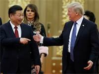 הנשיא טראמפ עם נשיא סין שי ג'ינגפינג / צילום: רויטרס