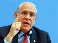 """מנכ""""ל ה-OECD אנחל גוריה \ צילום: רויטרס. Michele Tantussi"""