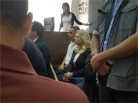 שרה נתניהו באולם בית המשפט / צילום: אלה לוי וינריב