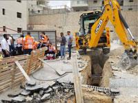 """אתר הבניה בו התרחשה  התאונה בבית שמש/ צילום: """"איחוד הצלה"""""""