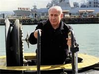 """נתניהו בביקור בצוללת אח""""י תנין / צילום: מארק ניימן, לע""""מ"""