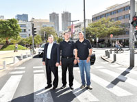 אילן ויצמן, אורַן דרור, ג'ון פורקרי/ צילום: יחצ