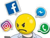 10 הפיצ'רים המרגיזים של פייסבוק / איור: אייל אונגר