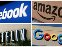 פייסבוק, אמזון, נטפליקס וגוגל / צילום: REUTERS FILE PHOTO