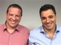 """מימין: דרור פלדהיים ויואל בר-אל, מייסדי טראקס / צילום: יח""""צ"""