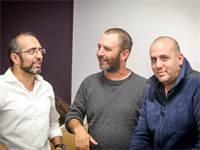 מתן דהן, דני גליקסברג וסטיבן לוי / שלומי יוסף