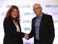 אורי חייאק, סמנכ״ל טכנולוגיות ב-IBM ישראל, וד״ר תמי רז, מנכ״לית הדסית / צילום: שאולי לנדנר