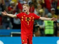 קווין דה בראונה, נבחרת בלגיה / צילום: רויטרס