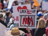 הפגנה נגד ה-NRA / צילום: שאטרסטוק
