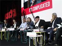 מימין: דוד קנפו, אברהם קוזניצקי, דפני ליף, תמיר דגן, אורי יוניסי ויגאל דמרי / צילום: שלומי יוסף