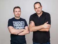 אייל רונן ואיתי הירש מייסדי פייבר / צילום: רוני פרל