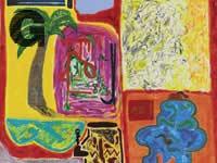 האמן שי יחזקאלי היצירה: אינדקס אדום 2015 אוסף הכנסת  / צילום: אלעד שריג