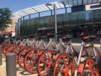 אופניים שיתופיים של מובייק/ צילום: הדר בלאו