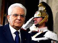 נשיא איטליה סרג'יו מאטארלה / צילום: רויטרס - Alessandro Bianchi