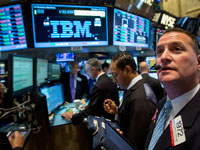 וול סטריט IBM /  צילום: Reuters, Brendan McDermid