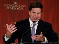 """ג'יי קלייטון, יו""""ר  SEC/  צילום:רויטרס ,Brendan McDermid :"""