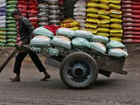 פועל הודי /צילום: Amit Dave, רויטרס