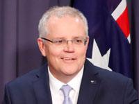 סקוט מוריסון ראש ממשלת אוסטרליה / צילום: רויטרס
