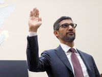 """מנכ""""ל גוגל, סונדאר פיצ'אי / צילום: רויטרס, Jim Young"""