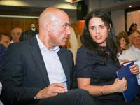 איילת שקד ואפי נוה / צילום: שלומי יוסף