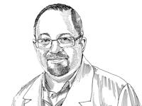 """ד""""ר עופר פורים / איור: גיל ג'יבלי"""