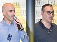 אמיר דורון (מימין) ואלעד שלף / צילום: ארן דולב