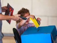 הצבעה בבחירות לרשויות המקומיות /צילום: שלומי יוסף