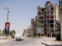 רחוב בעיר חומס / צילום:  רויטרס ,Omar Sanadiki