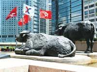 בורסת הונג קונג. / צילום: Shutterstock