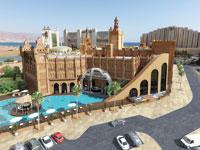הדמיה של פרויקט עיר המלכים באילת/ הדמיה : ברקליס