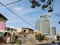 המגרש שנמכר ברח' הירקון / צילום: שלומי יוסף