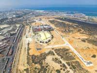 נמל אשדוד מהאויר / צילום: אלבטרוס