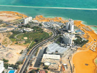 אזור המלונות בים המלח/ צילום: תמר מצפי