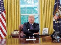 הנשיא דונלד טראמפ / צילום: רויטרס, Kevin Lamarque