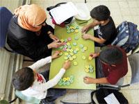 חיזוק ילדי הפריפריה/  צילום: רויטרס Ammar Awad