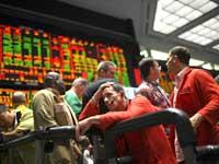 סוחרים מיואשים בספטמבר 2008/ צילום: רויטרס John Gress