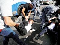 מפגינים חרדים בירושלים / צילום: רויטרס