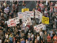 המחאה על יוקר המחייה באוגוסט 2011/ צילום: רוני שיצר