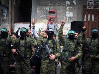 מיליציות של חמאס ברצועה  / צילום: רויטרס, Ibraheem Abu Mustafa