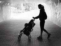 משפחה חד הורית/ צילום: Shutterstock א.ס.א.פ קרייטיב